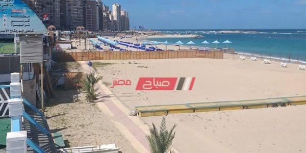 حملات مكبرة على شواطىء الإسكندرية لمنع المواطنين من النزول لمياه البحر