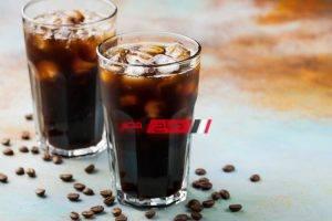 طريقة عمل قهوة باردة دايت