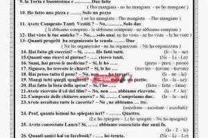 مراجعة ليلة الامتحان في اللغة الايطالية للصف الثالث الثانوي 2020
