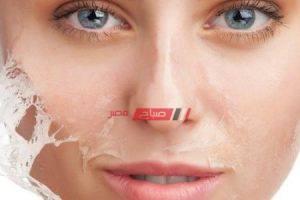 ماسك تقشير الوجه طبيعياً