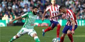 موعد مباراة اتلتيكو مدريد وريال بيتيس