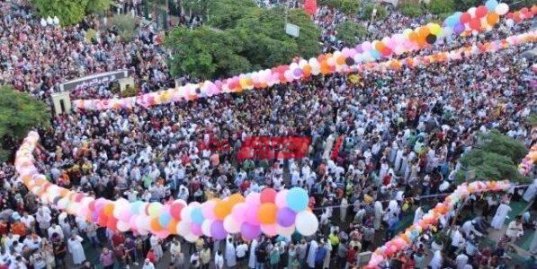 موعد صلاة عيد الأضحى المبارك بالساعة والدقيقة جميع محافظات مصر