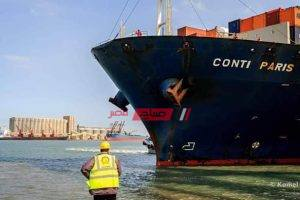 ميناء دمياط يستقبل 7 سفن و 886 شاحنة بحمولة 50680 طن بضائع عامة