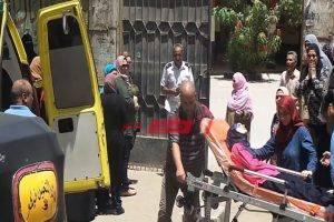 لجان الثانوية العامة بأسيوط تشهد نقل 5 طلاب للمستشفى للاشتباه في إصابتهم بكورونا