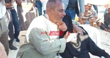 والد ووالدة شادى غريق الأسكندرية