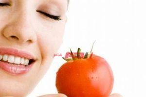 وصفات الطماطم للبشرة