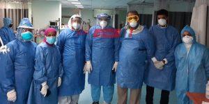 حالات التعافي من كورونا بالمستشفى