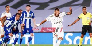 مباراة ريال مدريد وديبورتيفو ألافيس