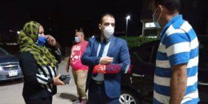 نائب محافظ دمياط يتفقد شوارع قرية العنانية