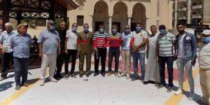 جولة محافظ شمال سيناء