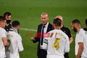 قائمة ريال مدريد لمباراة غرناطة وزيدان يحشد قوته الضاربة