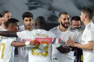 نتيجة الشوط الأول من مباراة ريال مدريد وديبورتيفو ألافيس وإصابة حكم اللقاء