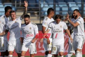 فينيسيوس بديل هازارد في تشكيل ريال مدريد المتوقع لمباراة خيتافي