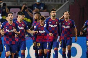 برشلونة يستعيد نجم الفريق قبل مواجهة أوساسونا
