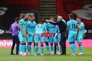 نتيجة مباراة توتنهام وبورنموث بطولة الدوري الإنجليزي