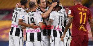 نتيجة مباراة روما وأودينيزي بطولة الدوري الايطالي