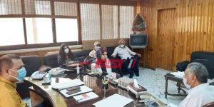 اجتماع وكيل وزارة الصحة بدمياط