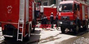 اندلاع حريق داخل مستشفي خاص بمنطقة سموحة فى الإسكندرية