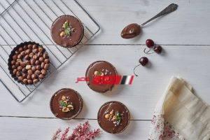 طريقة عمل تارت الشوكولاتة والبندق