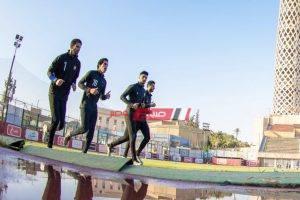 حراس الأهلي في مران منفرد لمدة ساعة