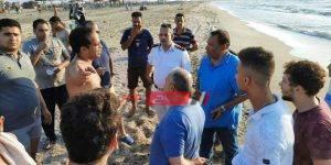 حملة على شواطئ رأس البر