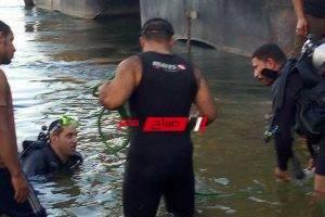 انتشال جثة غريق بنهر النيل في مركز أوسيم