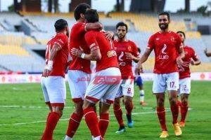 نتيجة مباراة الأهلي وحرس الحدود اليوم الدوري المصري