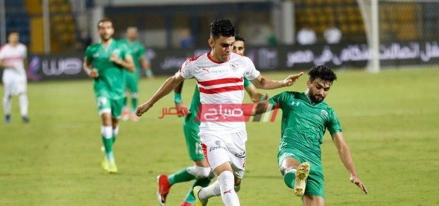 نتيجة مباراة الزمالك والاتحاد السكندري اليوم الدوري المصري