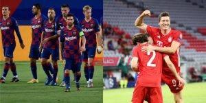 مشاهدة مباراة برشلونة وبايرن ميونخ