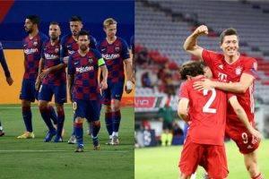 بث مباشر مشاهدة مباراة برشلونة وبايرن ميونخ اليوم دوري أبطال أوروبا