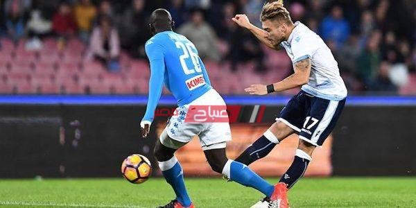 نتيجة مباراة نابولي ولاتسيو بطولة الدوري الإيطالي