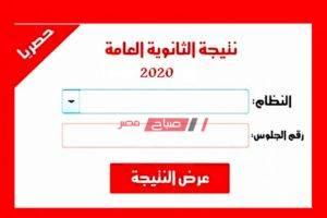 برقم الجلوس تعرف على الرابط الرسمي لموقع وزارة التربية والتعليم للحصول نتيجة الثانوية العامة 2020
