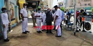 قام مدير أمن كفر الشيخ بتفقد اللجان وشدد المحافظ بالتواجد الأمنى