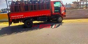 حادث طريق راس البر