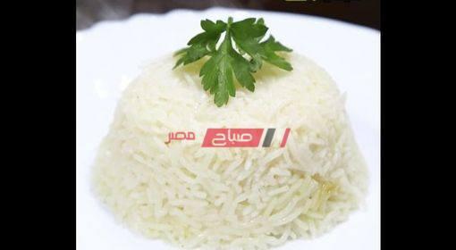 الأرز البسمتى الأبيض