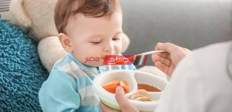 وجبات للطفل بعد سن ال6 أشهر