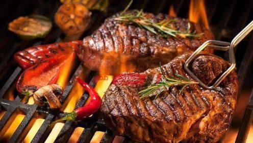 اللحم المشوي