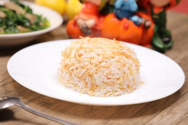 الأرز بالشيعرية